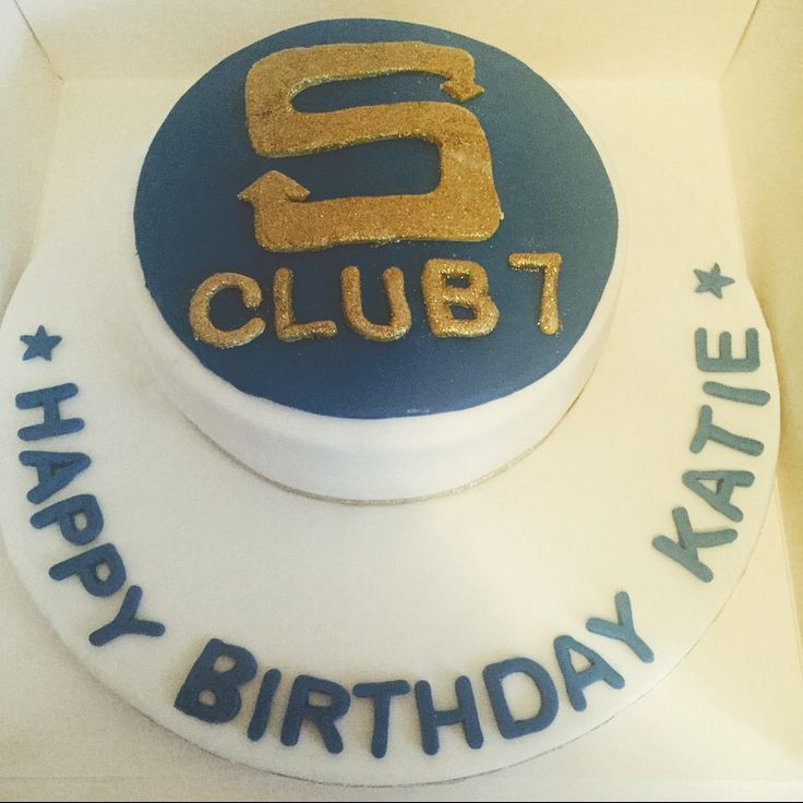 S club 7 cake