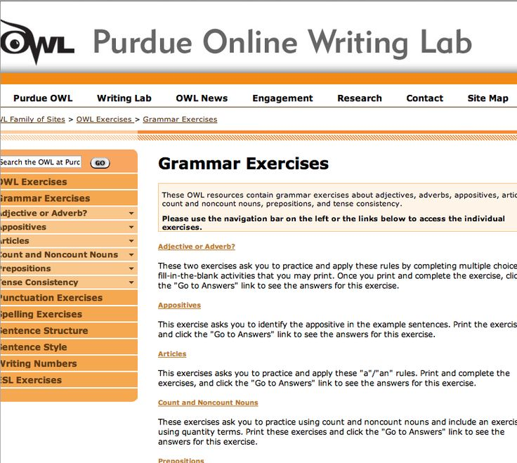 essay writing exercises owl Writing a selection of academic and newspaper articles, reviews and  the  ilogdata and m-log, he included the ilog in his essay designingconstraints  tags.