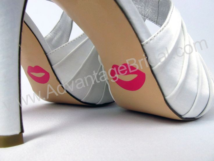Custom Lips Shoe Stickers For Wedding Shoes 895
