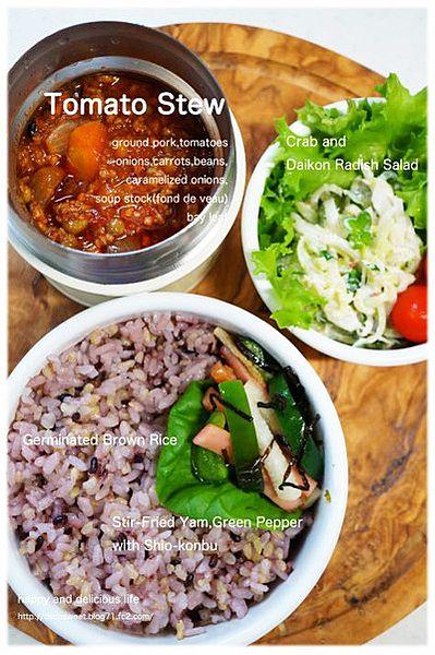 ひき肉とミックスビーンズのトマトシチュー - スープジャーでお弁当がもっと楽しみになる32の万能レシピ♪ (2ページ目) CAFY [カフィ]