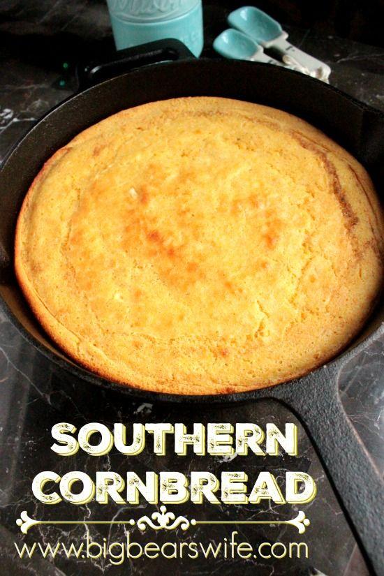 Southern Cornbread – Southern Skillet Cornbread | Recipe ...