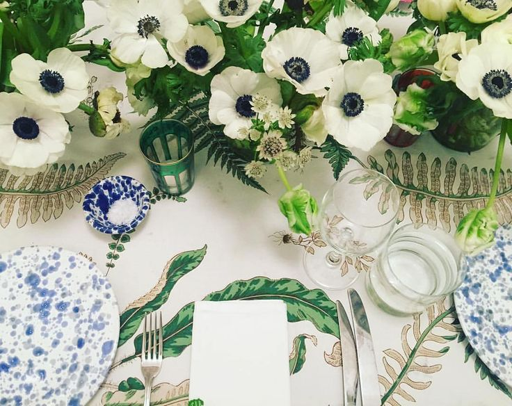 Greens + pattern table setting