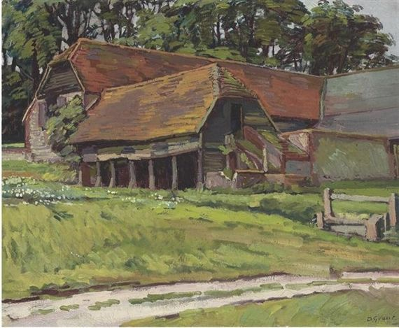THE BARN AT CHARLESTON by Duncan Grant, 1932