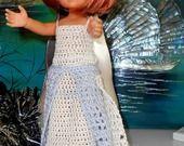 Robe de soirée transformable en robe de mariée pour poupée chérie 33 cm : Jeux, jouets par babylou-creations