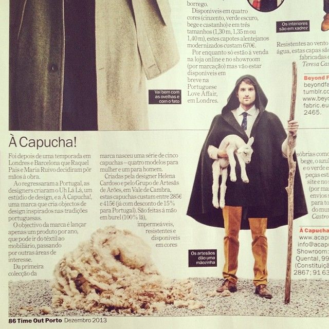 À Capucha! featured in 2013 December edition of Time Out Porto