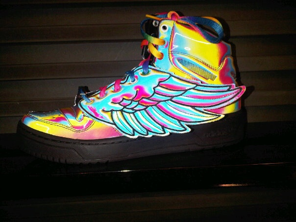 Adidas Orginals by Jeremy Scott sneakers !
