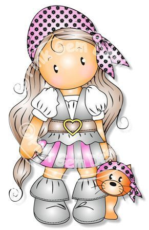 Instant Download  For Personal Use - Commercial License May Be Available - Please Contact For Details  The image shown is low resolution with a watermark added for copyright protection. The image you will receive will be high resolution 300dpi without a watermark. 1 blackline jpg - simply print out and colour onto smooth card and colour with Copics, ProMarkers, Prisma Pencils etc 1 blackline png with a transparent background (so you can print onto patterned paper) 1 Coloured jpg 1 Coloured…