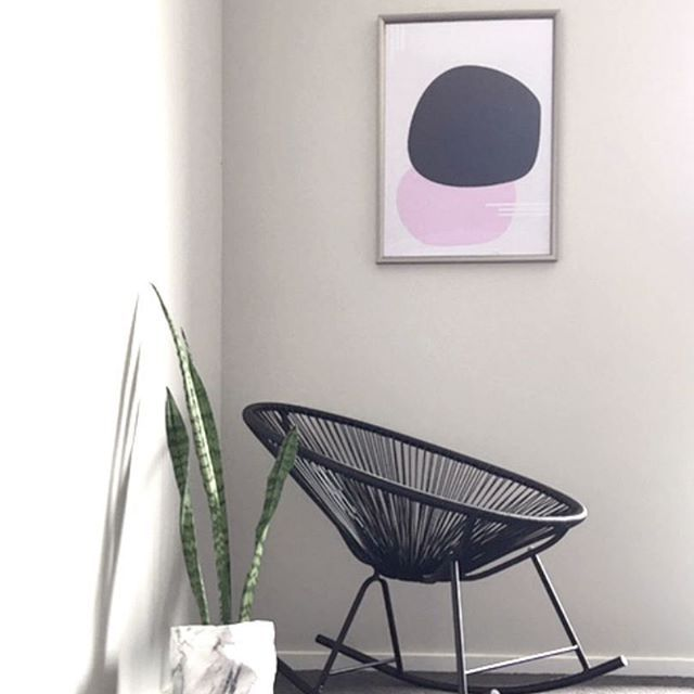 Intrepid abstract art print - Makers Ink.    Styling & pic: @hausofhudson_and_nate_     Abstract, minimalist, pink, navy, modern art, contemporary art.