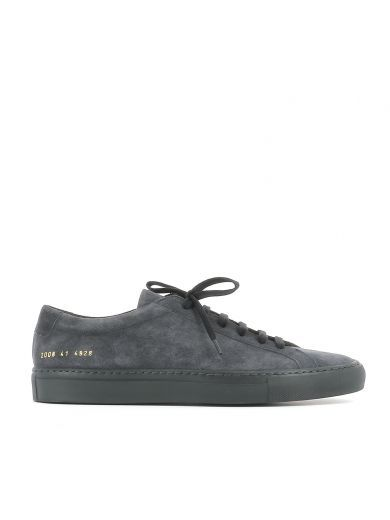 COMMON PROJECTS Common Projects Dark Grey Suede Sneakers. #commonprojects #shoes #sneakers