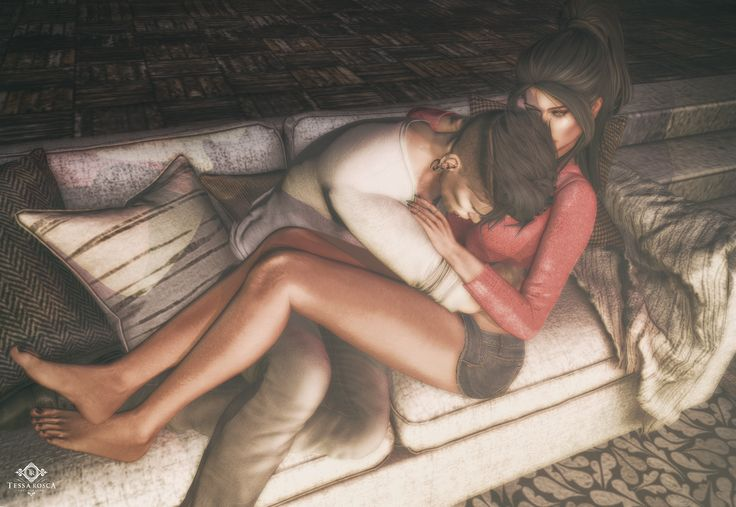 Lean on me #secondlife #sl #couplephoto