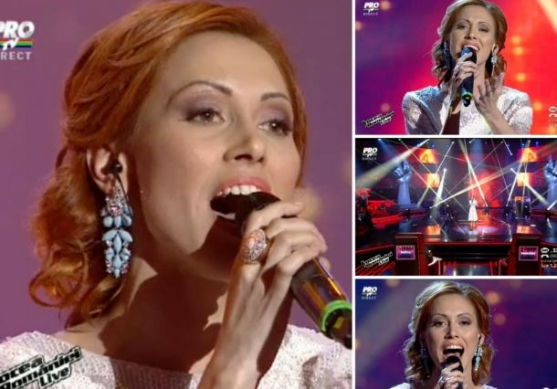 Saved by the coach: Aliona Moon advances on The Voice of Romania