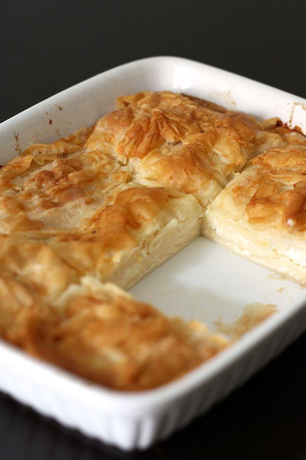"""Feuilleté au fromage façon """"Banitsa"""""""