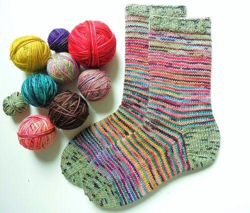 Scrappy Sock Ingenuity
