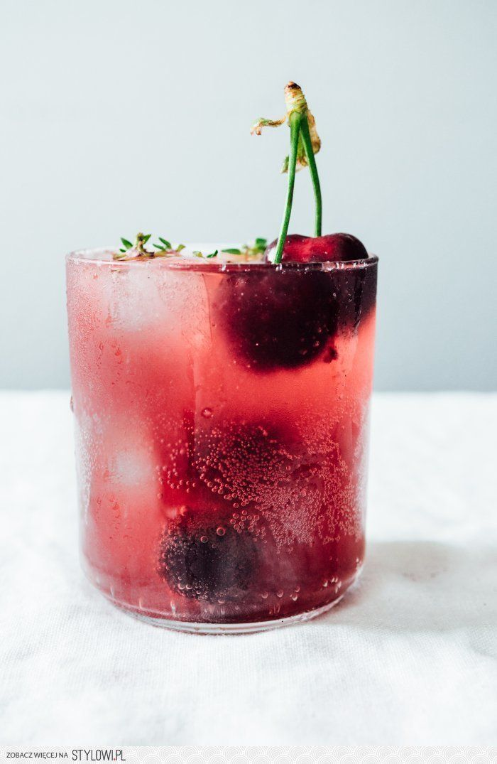 Roasted Cherry Soda | TENDING the TABLE na Stylowi.pl