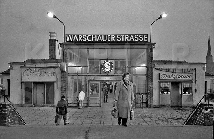 S-Bahn, Ostberlin, Warschauer Straße