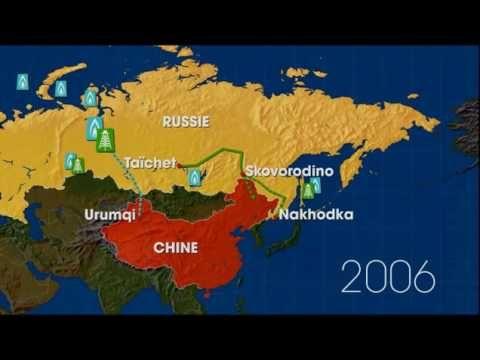 Dessous des cartes Chine Russie