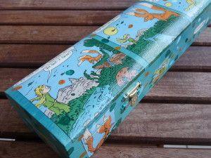 ...une boîte pour ranger les aiguilles à tricoter et apprivoiser les renards...