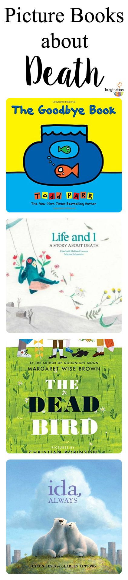 recommended picture books for kids about death and dying