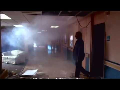 Breaking Bad: When Gus is blown up by Hector, with the bomb made by Mr. White. Gus still straightens his tie.  This is the only video I have on Pinterest,   but the scene is so good that I had to add it.