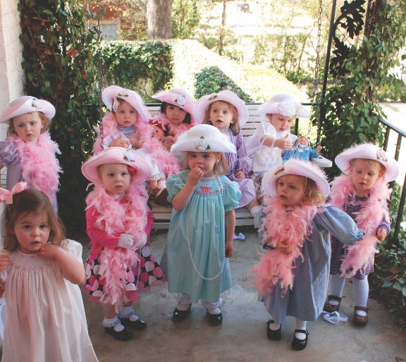 Tea at Two: Little girl's tea-party-themed celebration | Photo by Marla Meadows for Mississippi Magazine