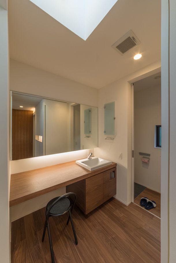 シンプルで白いキューブの家・間取り(愛知県岡崎市) | 注文住宅なら建築設計事務所 フリーダムアーキテクツデザイン
