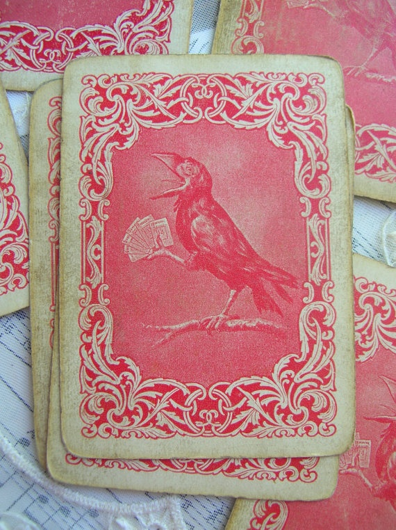 vintage playing cards