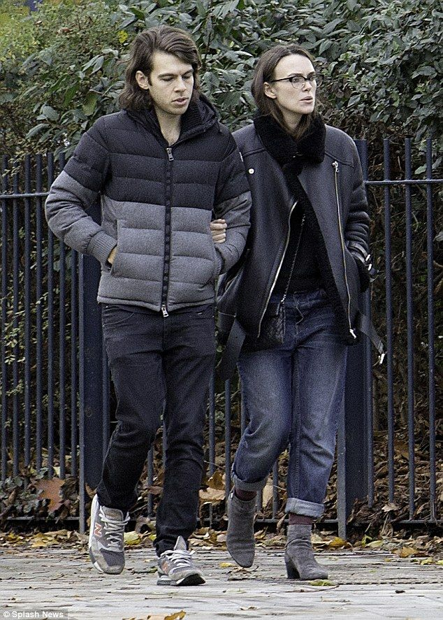 Stay stylish and warm in Keira's Acne Studios biker jacket #DailyMail  Click 'Visit' to buy now
