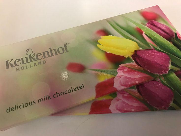 Makeat tuliaiset! #suklaa #Keukenhof