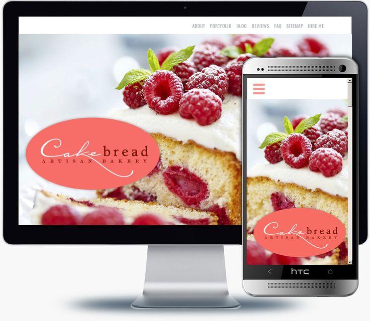 Bakery website design inspiration - http://webdesignportfolio.us/bakery-website-design-inspiration/