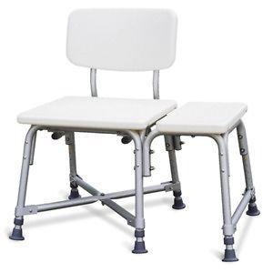 Dressing and Grooming Aids: Medline Non-Padded Bariatric Transfer Bench - Mds86952xw BUY IT NOW ONLY: $96.88