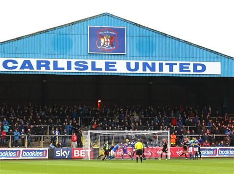Images from Carlisle United v Crawley Town