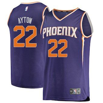 bf7d9617 Deandre Ayton Phoenix Suns Fanatics Branded 2018 NBA Draft First Round Pick  Fast Break Replica Jersey Purple – Icon Edition