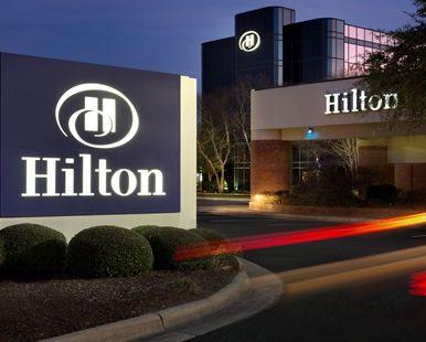 Hilton Greenville Hotel, Greenville, NC - Exterior Sign | NC 27834
