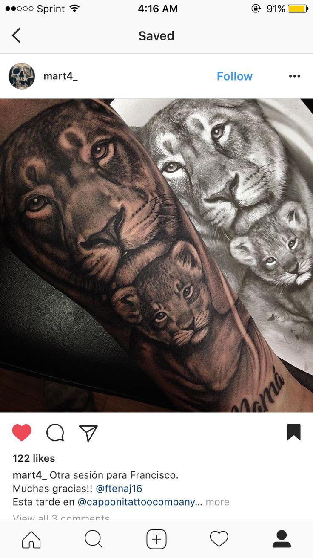 Ich und mein Löwenbaby ???