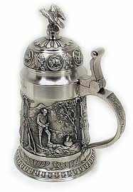 German toasting stein