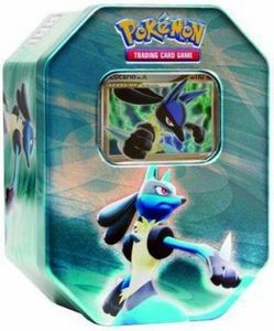 Pokemon Cards Diamond & Pearl Lucario Tin