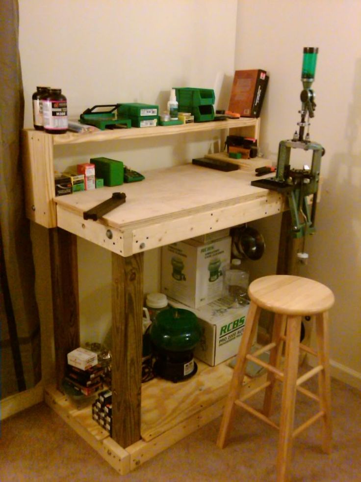 25 Best Ideas About Reloading Bench Plans On Pinterest Shooting Targets Ar15 Build Diy And