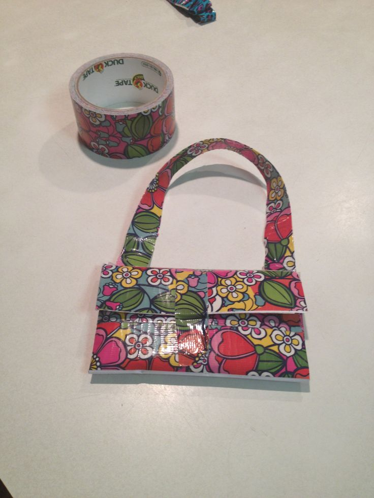 17 best images about duck tape on pinterest duct tape for Super easy duct tape crafts