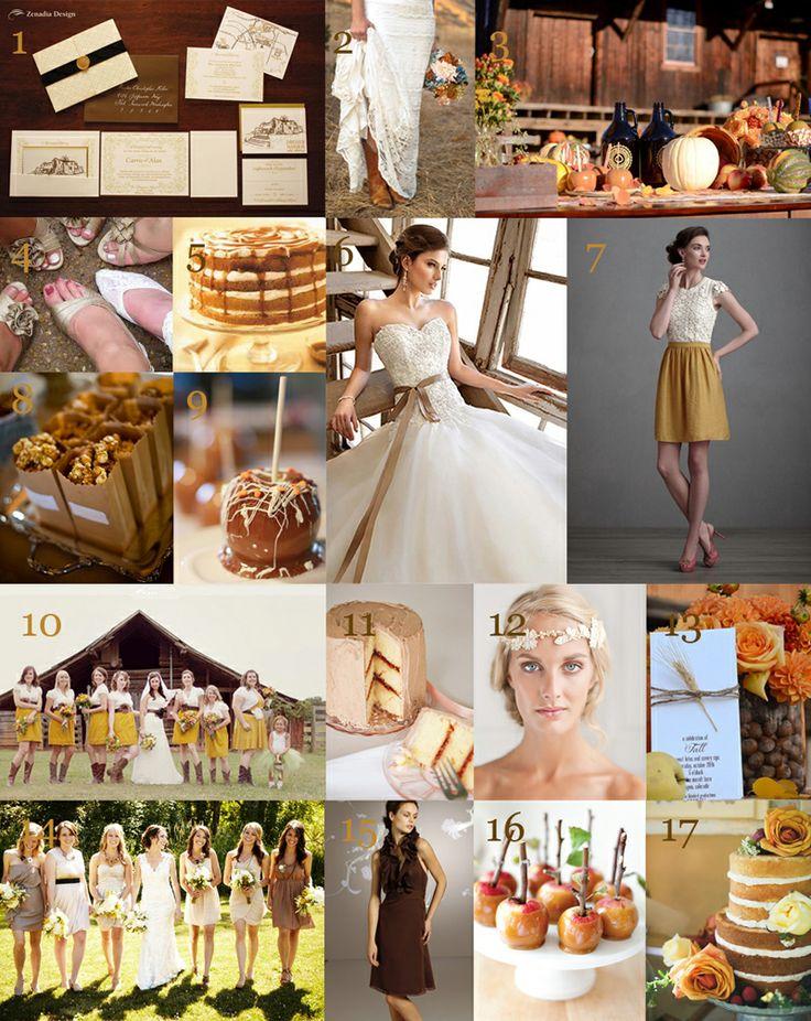 Caramel Fall Inspired Wedding Ideas Wv Weddings Designed By Caroline R