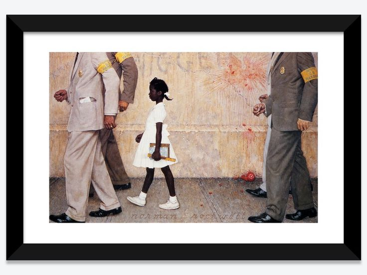 The Problem We All Live With Ruby Bridges Norman