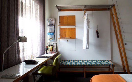 10 Small Space Solutions from Hotels | Apartment Therapy