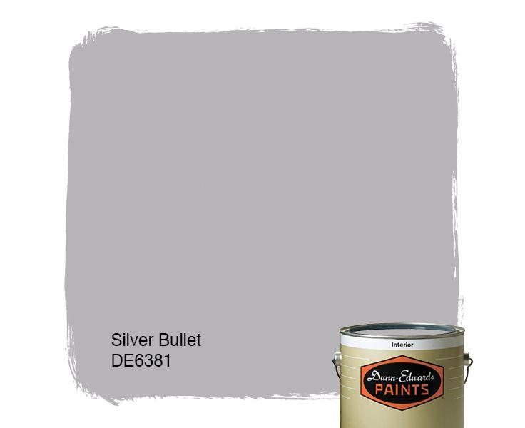 dunn edwards paints paint color silver bullet de6381 click for a free color - Battleship Grey Color