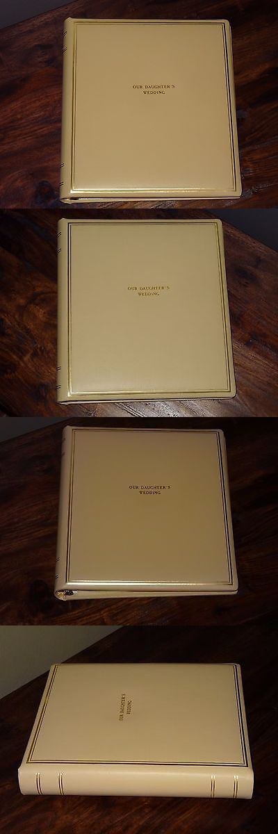 Photo Albums 102473: Our Daughter S Wedding - Leather Photo Album By Exposures -> BUY IT NOW ONLY: $50 on eBay!