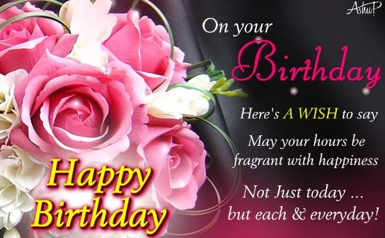 """A beautiful birthday wish for god's beautiful creation """"Woman"""". Send this #Ecard to the elading laduy of your life on her #Birthday. www.123greetings.com"""