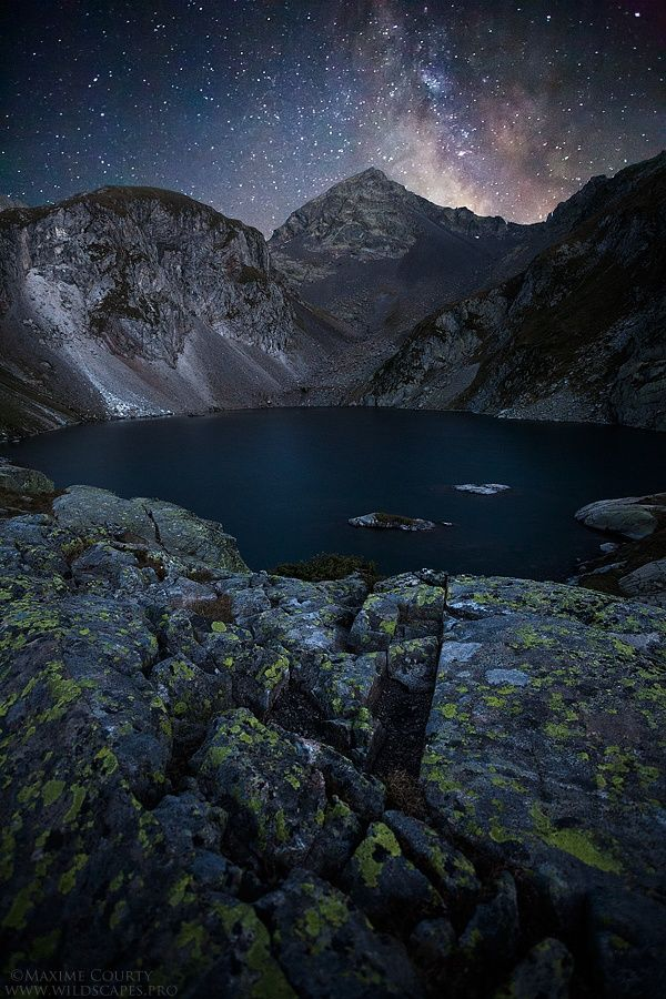 Photo The Dark Lake by Maxime Courty on 500px