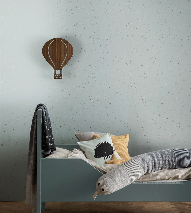 How To Style Boys Rooms | Confetti Wallpaper by Independent Designers | Jane Clayton
