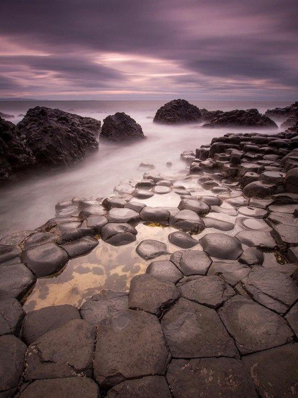 Giants Causeway in Noord Ierland
