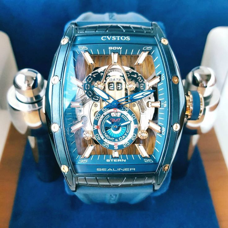CVSTOS Sea-Liner GMT.