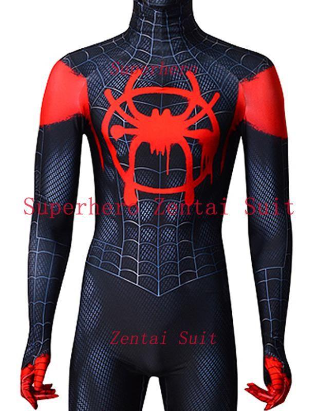 Children Gwen Spider-Man Jacket Hoodie 3D Animation Clothes Cosplay Coat