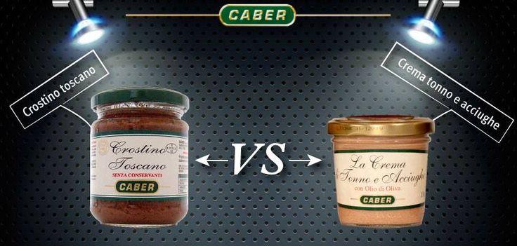 ..Chi vince?! #cucina #tavola #crostino toscano #crema #tonno e #acciughe #caber #sfida